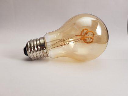 E27-A60 Curlie LED filament-lamp