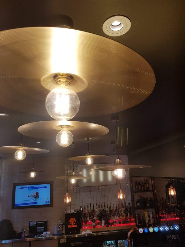 Moth - Cymbal Pendant