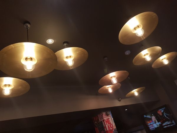 CEILING CYMBAL LIGHTS