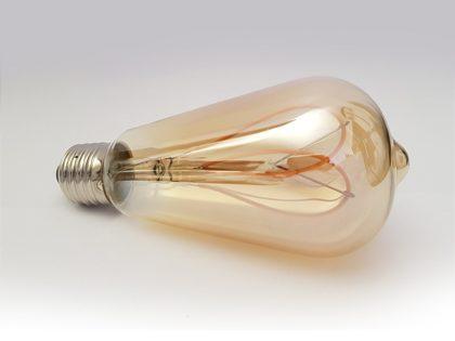 E27-ST64-Moth-wing-lamp-LED--filament-amber