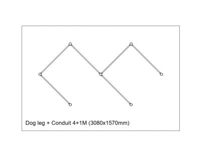 Copper-conduit-Dogleg
