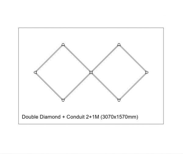 Copper-conduit-Double-Diamond