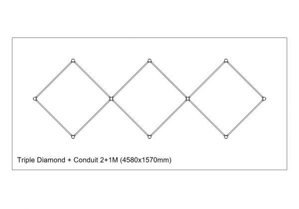 Copper-conduit-Triple-Diamond